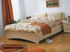 Ліжка двоспальні фото ціни Львів