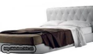 Фото двоспального ліжка Львів