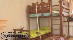 Дитячі ліжка двоярусні фото ціни Львів