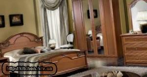 Спальне ліжко в Львові