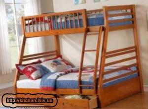 Двоярусні ліжка Львів ціна