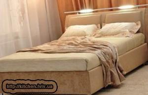 Купити двоспальне ліжко Львів