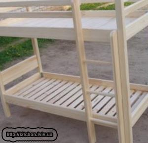 Купити двоповерхове ліжко у Львові