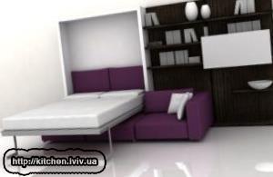 Стінка з ліжком що ховається ціни Львів