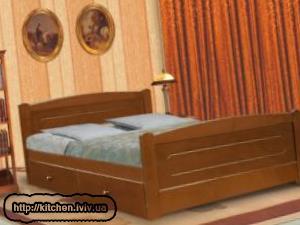 Дерев'яні ліжка Львів