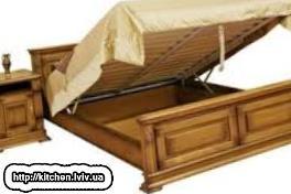 Дерев'яні ліжка купити Львів